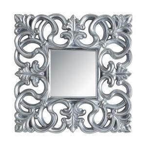 Maisons du monde - miroir rivoli carré silver - Miroir