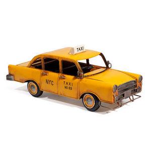 Maisons du monde - taxi jaune - Maquette De Voiture