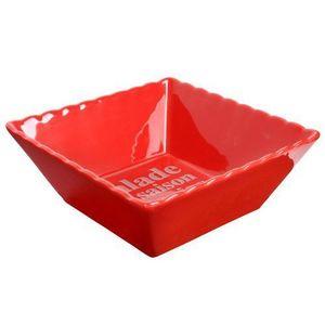 Maisons du monde - saladier gastronome rouge - Saladier
