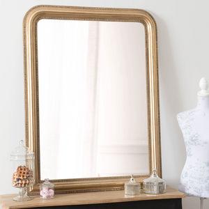 Maisons du monde - miroir céleste or 90x120 - Miroir