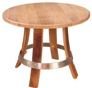 MEUBLES EN MERRAIN - table basse tastevin - Table Basse Ronde