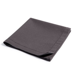 Maisons du monde - serviette unie anthracite - Serviette De Table