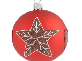 Maisons du monde - boule chalet étoile - Boule De Noël