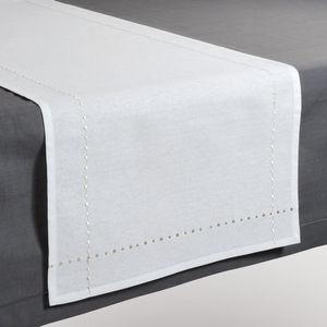 Maisons du monde - chemin de table myriade blanc - Chemin De Table