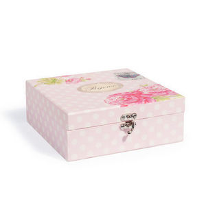 Maisons du monde - boîte à bijoux sweet flower - Coffret À Bijoux
