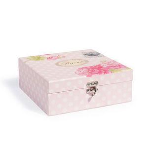 Maisons du monde - bo�te � bijoux sweet flower - Coffret � Bijoux