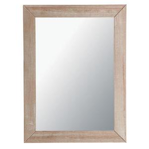 Maisons du monde - miroir natura cérusé 90x120 - Miroir