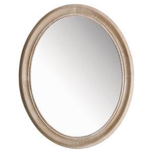 Maisons du monde - miroir louis ovale naturel - Miroir