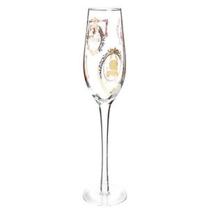 Maisons du monde - flûte cadres or - Flûte À Champagne