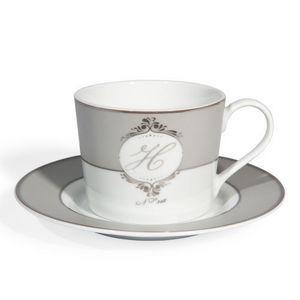 Maisons du monde - tasse et soucoupe � th� op�rette - Tasse � Caf�