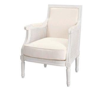Maisons du monde - fauteuil ivoire casanova - Fauteuil