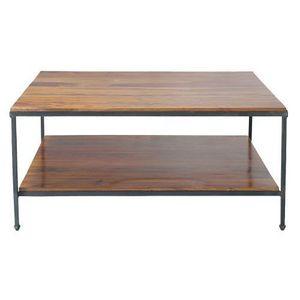 MAISONS DU MONDE - table basse carrée lubéron - Table Basse Rectangulaire