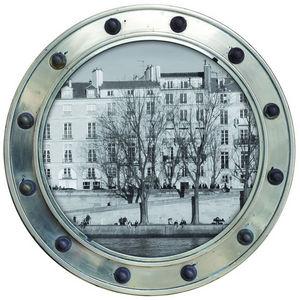 ALFRED CREATION - sticker 3 hublots sur l'�le -saint-louis noir et  - Gommettes