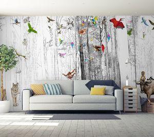 IN CREATION - un monde libre et sauvage - Papier Peint Panoramique