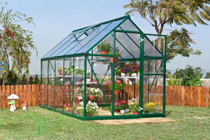Chalet & Jardin - serre gaya verte 5,7m² en aluminuim et polycarbona - Serre