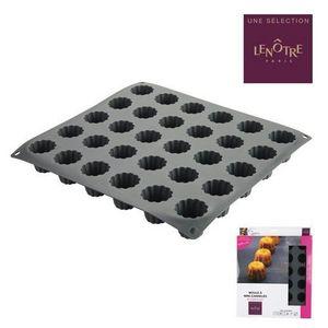 LENÔTRE - moule à mini-cannelés 30 emplacements en silicone  - Moule À Gâteau