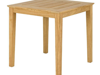 Alexander Rose - table carrée tivoli en roble fsc 80x80x73cm - Table De Jardin