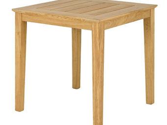 Alexander Rose - table carrée tivoli en roble fsc 80x80x73cm - Table De Jardin