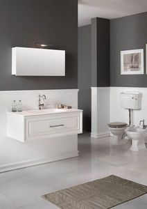 BLEU PROVENCE - meuble charme 2 - Meuble De Salle De Bains