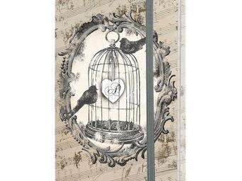 Mathilde M - carnet 90 pages le chant des oiseaux - Carnet De Notes