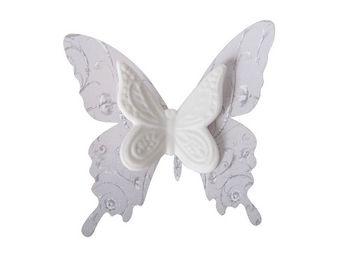 Mathilde M - papillon biscuit � pince volutes - D�cor �v�nementiel