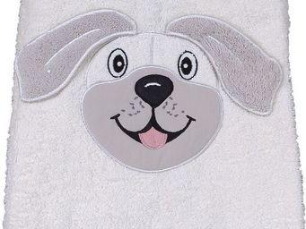 SIRETEX - SENSEI - serviette 50x90cm en forme chien - Serviette De Toilette Enfant