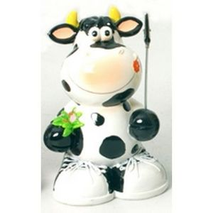 FAYE - tirelire et porte photo vache - Tirelire