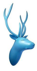CL�MENTINE BAL - troph�e de cerf - Sculpture Animali�re