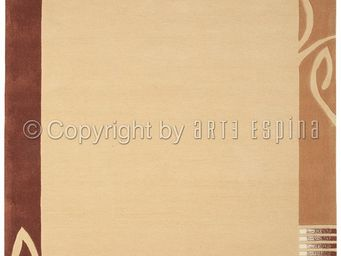 Arte Espina - tapis de salon easy going 3 beige 170x240 en acryl - Tapis Contemporain