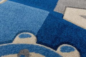 NAZAR - tapis amigo 100x150 blue - Tapis Enfant