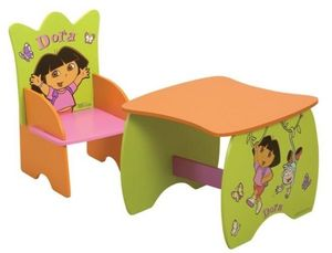 DORA - table carr dora - Table Enfant