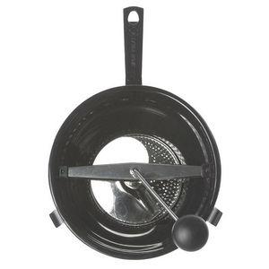 WHITE LABEL - moulin à légumes avec 2 disques interchangeables - Passoire