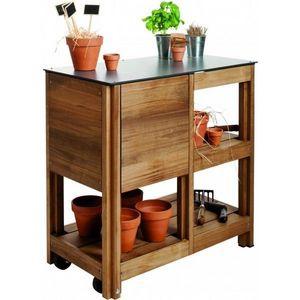 JARDIPOLYS - table multifonctions de jardinage b.y.o - Table De Rempotage