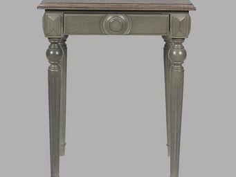 BLANC D'IVOIRE - mathis gris foncé - Table De Chevet