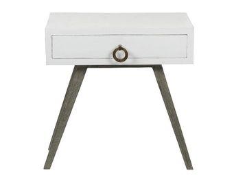 BLANC D'IVOIRE - jil gm blanc - Table De Chevet