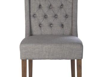 BLANC D'IVOIRE - sydney haute gris - Chaise
