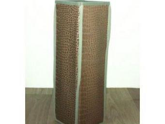Cm - range papier toilette croco - couleur - marron - R�serve � Rouleaux
