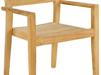 Alexander Rose - fauteuil empilable tivoli en roble fsc 60x60,5x84, - Fauteuil De Jardin