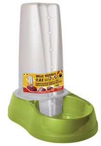 ZOLUX - distributeur mixte vert pour eau ou croquettes 0.6 - Gamelle