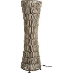 Aubry-Gaspard - lampe en rotin de 93 cm de hauteur - Lampadaire