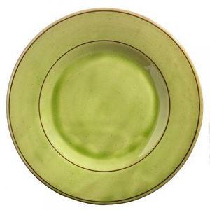 Barbotine -  - Assiette Plate