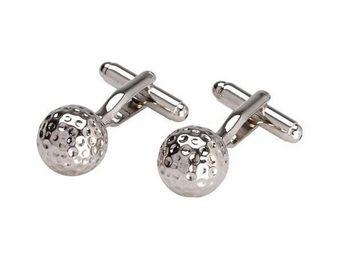 La Chaise Longue - boutons de manchette et porte clés golf - Bouton De Manchette