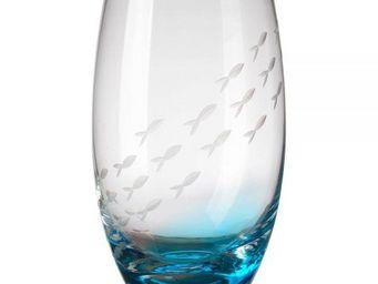 La Chaise Longue - 4 verres poisson grand modèle - Verre