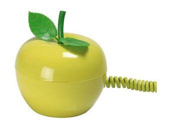 La Chaise Longue - t�l�phone pomme verte - T�l�phone D�coratif