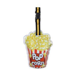 La Chaise Longue - etiquette à bagage popcorn - Etiquette De Bagage