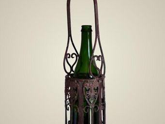 L'HERITIER DU TEMPS - porte bouteille unique en fer - Porte Bouteilles