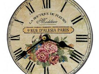 L'HERITIER DU TEMPS - horloge miniature madeleine 16,5cm - Horloge Murale