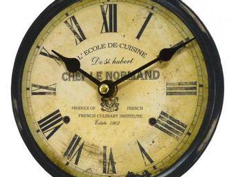 L'HERITIER DU TEMPS - petite pendule chef le normand ø16.5cm - Horloge Murale