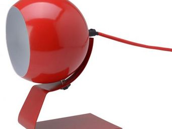 La Chaise Longue - lampe olga rouge - Lampe � Poser