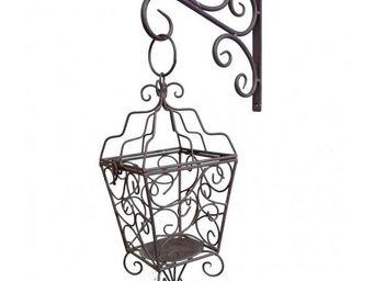 L'HERITIER DU TEMPS - lanterne � bougie sur cr�dence - Lanterne D'ext�rieur